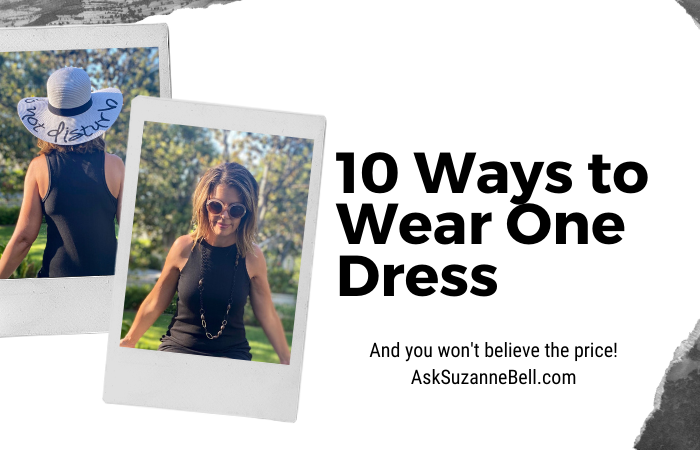 10 Ways to Wear One Dress + Amazing Summer Deals