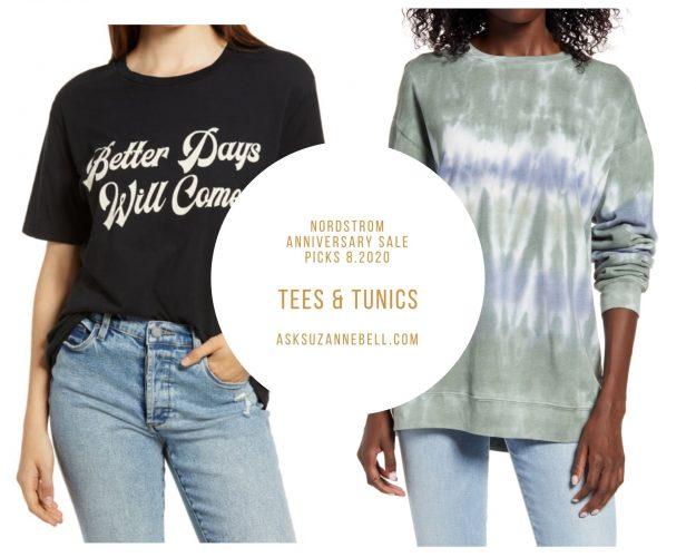 tees and sweatshirts