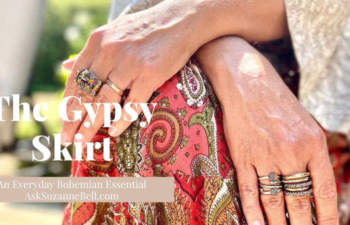 Bohemian Essentials | The Gypsy Skirt