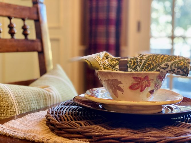 Fall Home | Table Settings