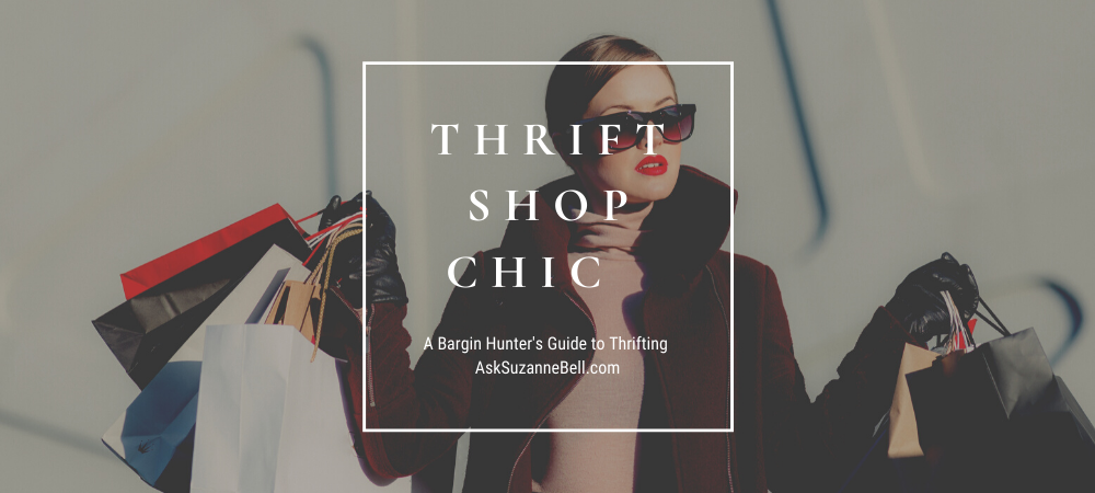 Thrift Shop Chic | A Bargain Hunter's Guide to Thrifting
