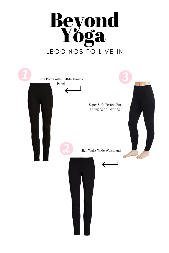 Leggings to Live In, Outfit Ideas + Nordstrom Cyber Deals