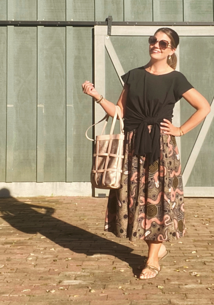 WIW – How to Style A Pleated Midi Skirt